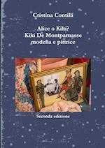 Alice O Kiki? Kiki de Montparnasse Modella E Pittrice