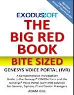 Big Red Book - Bite Sized - Genesys Voice Portal af Adam Gill