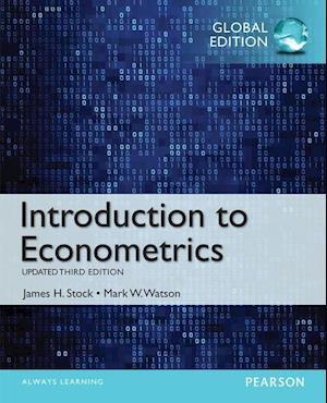 Bog paperback Introduction to Econometrics Update Global Edition af James H Stock