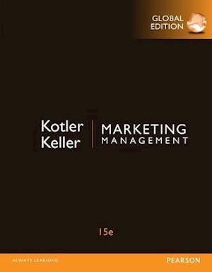 Bog ukendt format Marketing Management with MyMarketingLab Global Edition af Philip Kotler