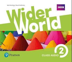 Lydbog, CD Wider World 2 Class