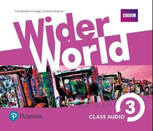 Lydbog, CD Wider World 3 Class