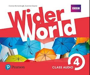 Lydbog, CD Wider World 4 Class Audio CDs