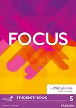Focus BrE 5 Students' Book & MyEnglishLab Pack (Focus)