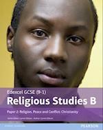 Edexcel GCSE (9-1) Religious Studies B Paper 2: Religion, Peace and Conflict - Christianity (Edexcel GCSE 9 1 Religious Studies)