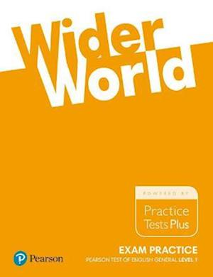 Bog, paperback Wider World Exam Practice: Pearson Tests of English General Level 1(A2)