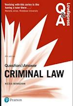 Law Express Question and Answer: Criminal Law (Law Express Questions Answers)