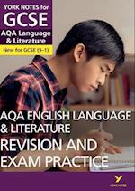 AQA English Language and Literature Revision and Exam Practice: York Notes for GCSE (9-1) (York Notes)