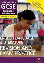 English Language and Literature Revision and Exam Practice: York Notes for GCSE (9-1) (York Notes)