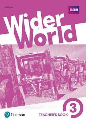 Bog, ukendt format Wider World 3 Teacher's Book