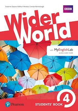 Bog, ukendt format Wider World 4 Students' Book with MyEnglishLab Pack