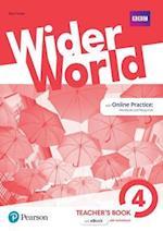 Wider World 4 Teacher's Book (Wider World)