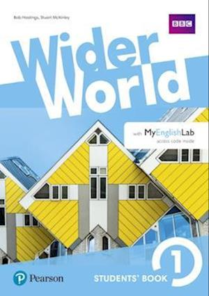 Bog, ukendt format Wider World 1 Students' Book with MyEnglishLab Pack