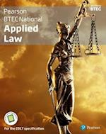 BTEC National Applied Law student book + Active book (Applied Law BTEC)