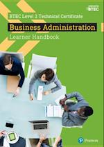 BTEC Level 2 Technical Certificate  Business Administration Learner Handbook with ActiveBook (BTEC L2 Technicals Business)