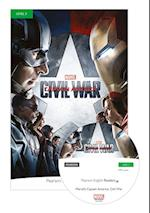 Level 3: Marvel's Captain America: Civil War Book & MP3 Pack (Pearson English Graded Readers)
