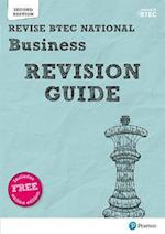 Revise BTEC National Business Revision Guide (REVISE BTEC Nationals in Business)
