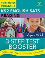 English SATs 3-Step Test Booster Reading: York Notes for KS2 (York Notes)