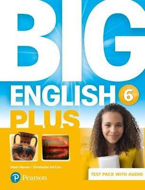 Big English Plus BrE 6 Test Book and Audio Pack