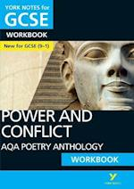 AQA Poetry Anthology - Power and Conflict: York Notes for GCSE (9-1) Workbook (York Notes)