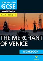 The Merchant of Venice: York Notes for GCSE (9-1) Workbook (York Notes)