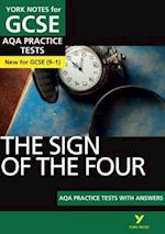 The Sign of the Four AQA Practice Tests: York Notes for GCSE (9-1) (York Notes)