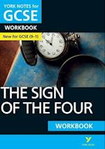 The Sign of the Four: York Notes for GCSE (9-1) Workbook (York Notes)