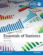 Essentials of Statistics plus Pearson MyLab Statistics with Pearson eText, Global Edition