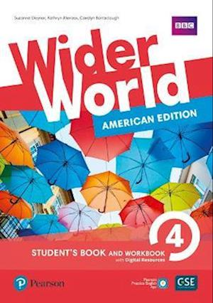 Wider World American Edition 4 Student Book & Workbook with PEP Pack
