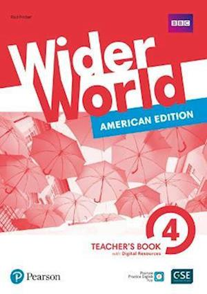 Wider World American Edition 4 Teacher's Book with PEP Pack