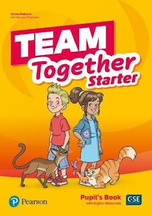 Team Together Starter Capitals Edition Pupil's Book with Digital Resources Pack