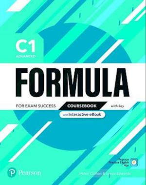 Formula C1 Advanced Coursebook and Interactive eBook with Key with Digital Resources & App