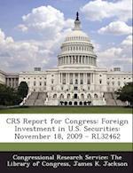 Crs Report for Congress af James K. Jackson