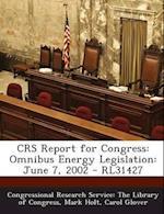Crs Report for Congress af Carol Glover, Mark Holt