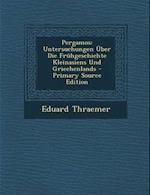 Pergamos af Eduard Thraemer