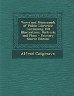 Views and Memoranda of Public Libraries af Alfred Cotgreave