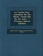 Le Comte Ory af Charles-Gaspard Delestre-Poirson, Eugene Scribe