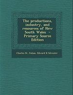 The Productions, Industry, and Resources of New South Wales - Primary Source Edition af Charles St Julian, Edward K. Silvester