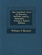 One Hundred Views of Kearney, Buffalo County, Nebraska .. - Primary Source Edition af William S. Skinner