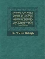 The History of the World af Walter Raleigh