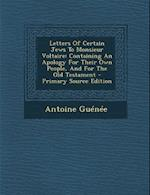 Letters of Certain Jews to Monsieur Voltaire af Antoine Guenee