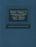 Salaminia (Cyprus) af Samuel Birch, Alexander Palma Di Cesnola
