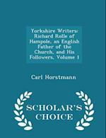 Yorkshire Writers af Carl Horstmann