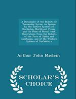 A Dictionary of the Dialects of Vernacular Syriac af Arthur John Maclean