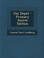 Om Dopet af Conrad Emil Lindberg