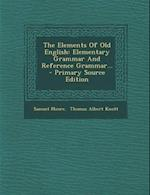 The Elements of Old English