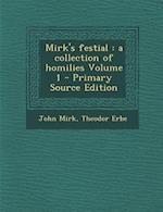 Mirk's Festial af John Mirk, Theodor Erbe