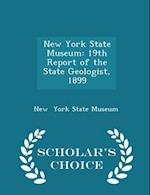 New York State Museum: 19th Report of the State Geologist, 1899 - Scholar's Choice Edition
