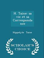 H. Taine af Hippolyte Taine