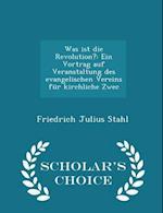 Was Ist Die Revolution?